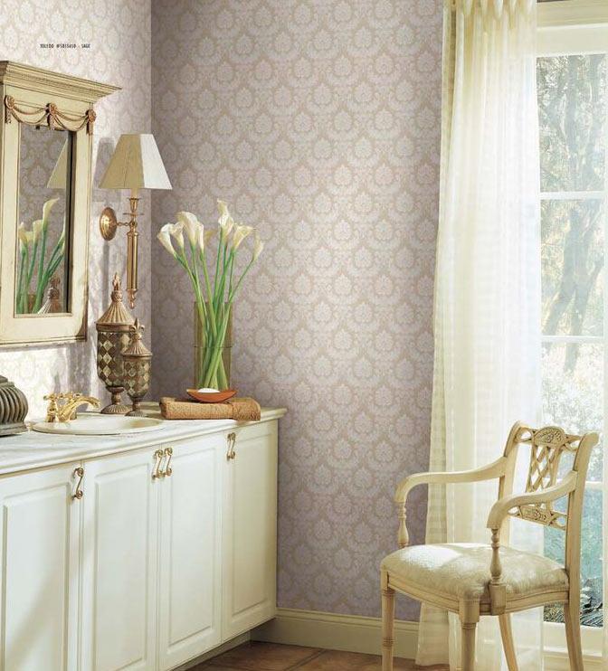 Decoraciones carlos papel cl sico for Papel pintado clasico
